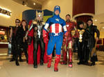 Avengers in theater