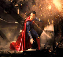Man of Steel Cosplay Superman Carlos Galvan