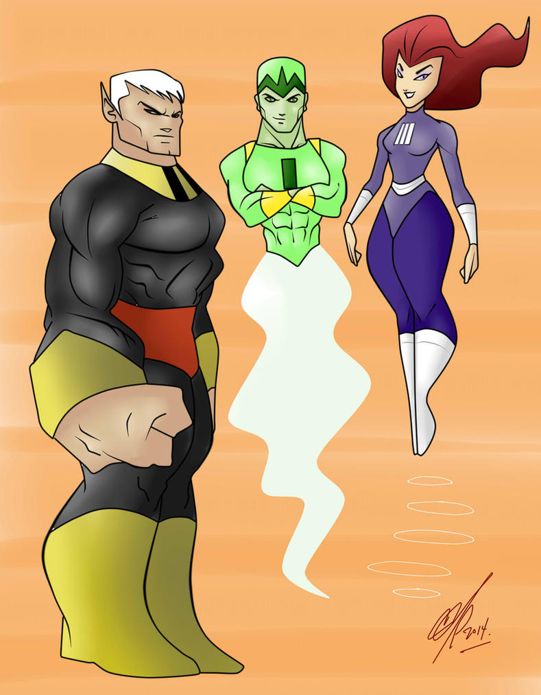 Trio Galaxia by Kryptoniano