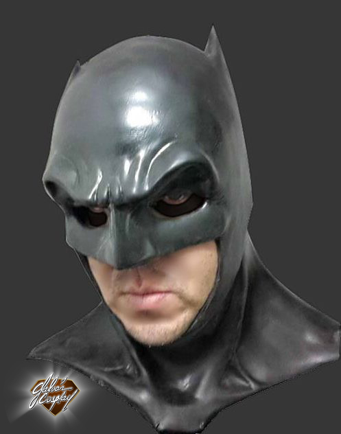 Ben Affleck Batman Cowl by Kryptoniano on DeviantArt Batman Cowl Ben Affleck