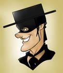 Tyrone Power Zorro Toon