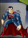 Man Of Steel drawing
