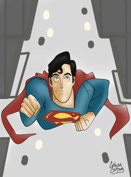 Christopher Reeve Cartoon