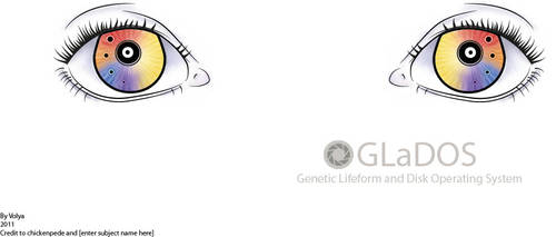 GLaDOS Eyes by iVolya