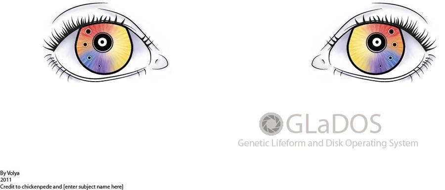GLaDOS Eyes by iVolya
