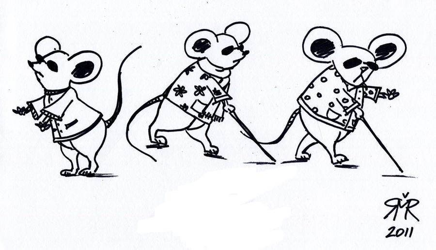 Three Blind Mice Clip Art Cliparts