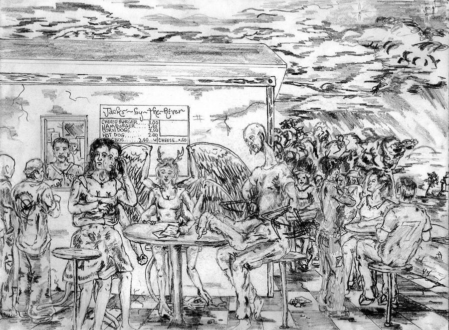 Jack's Cafe by somethingelse77