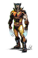 Legendary Wolverine by Fico-Ossio