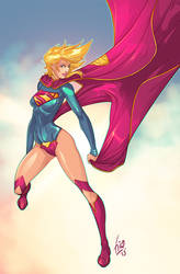 Supergirl New 52 by Fico-Ossio