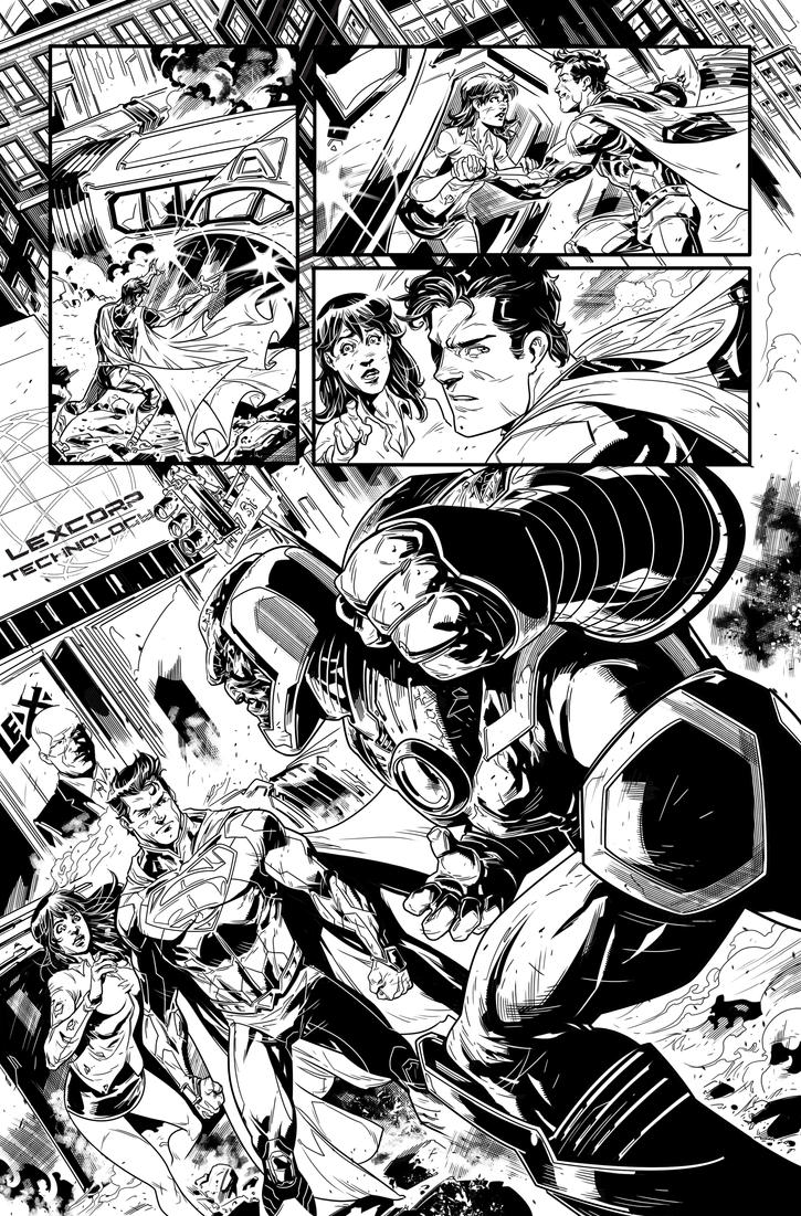New 52 Superman page 06 by Fico-Ossio