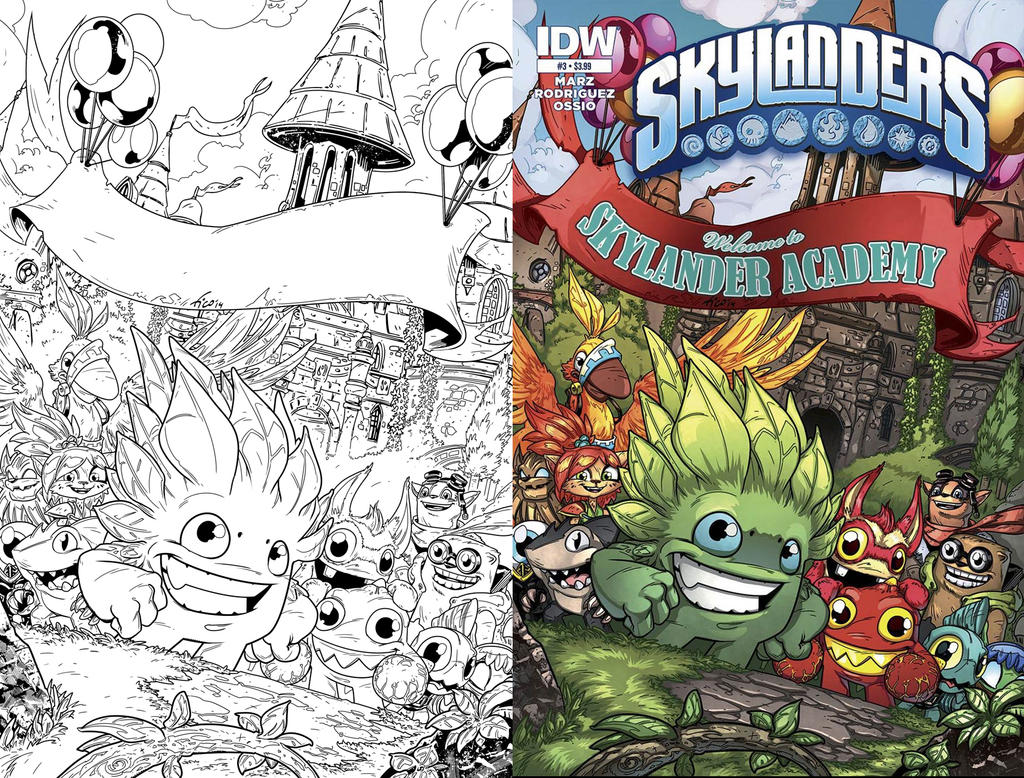 SKYlanders cover #03 by Fico-Ossio