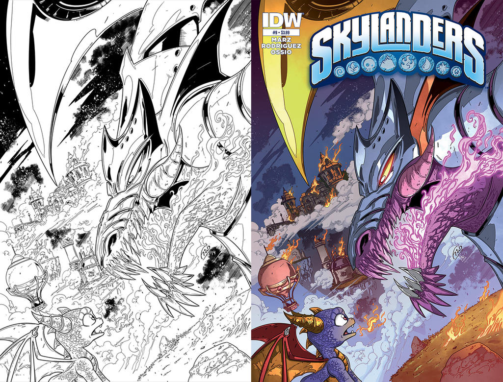 Skylanders 9 Cover by Fico-Ossio
