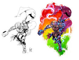 God of THUNDER by Fico-Ossio