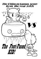 The Foot-Faced Kid by Blitzkrieg1701