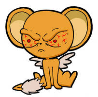 Angry Kero-chan is ANGRY by Blitzkrieg1701