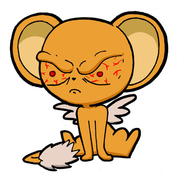 Angry Kero-chan Is ANGRY By Blitzkrieg1701 On DeviantArt