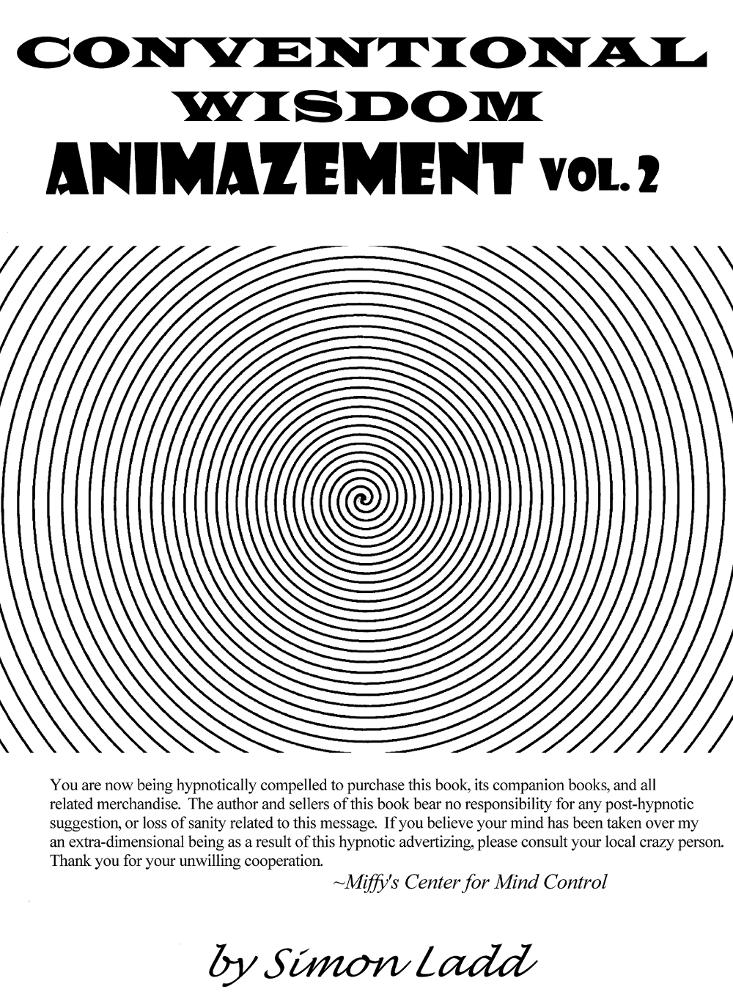 Conventional Wisdom - Animazement vol. 2 cover by Blitzkrieg1701