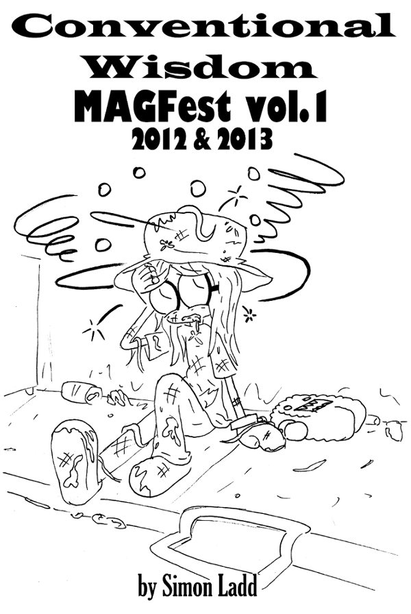 Conventional Wisdom - MAGFest vol. 1 cover by Blitzkrieg1701