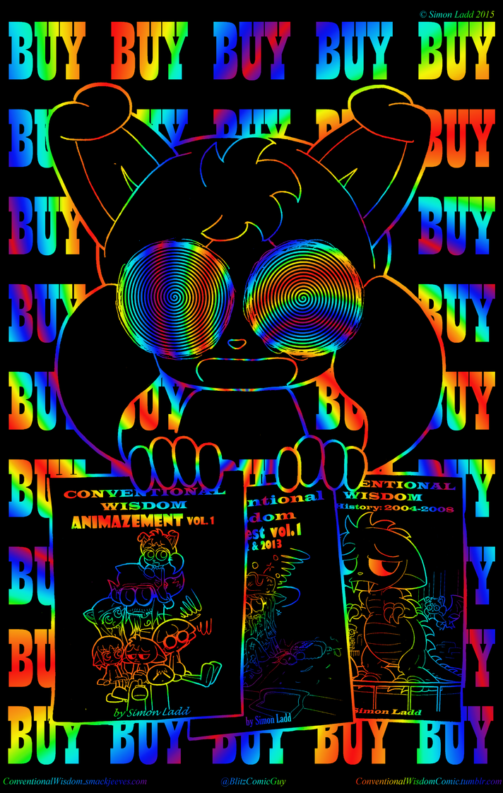 Miffy says BUY BUY BUY by Blitzkrieg1701
