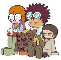 Digimon Tri Refugees by Blitzkrieg1701