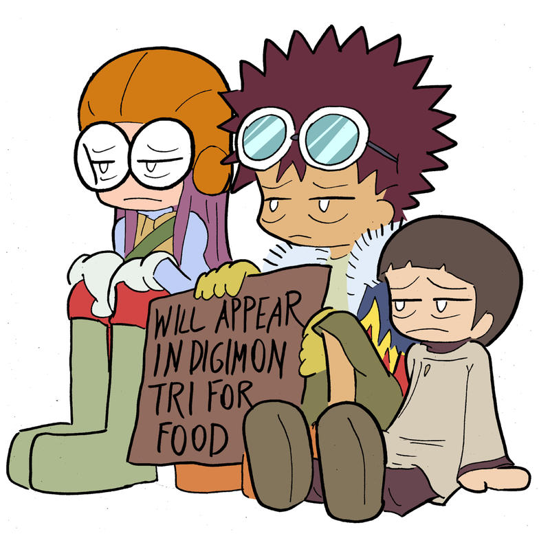 Digimon Tri Refugees by Blitzkrieg1701