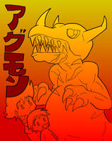 Greymon (directed by Ishiro Honda) by Blitzkrieg1701