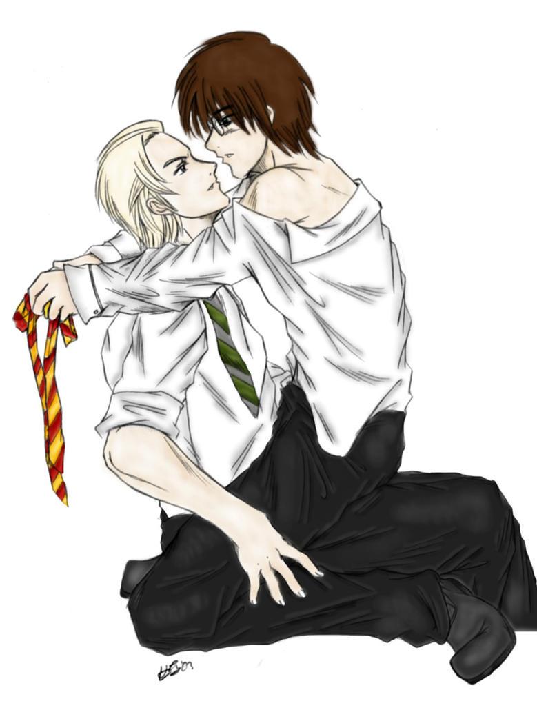 Draco and Harry slash clr by phyrephoenix