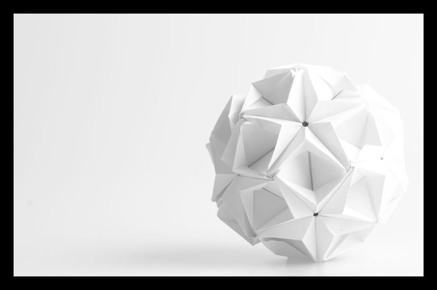 Объемные оригами композиции