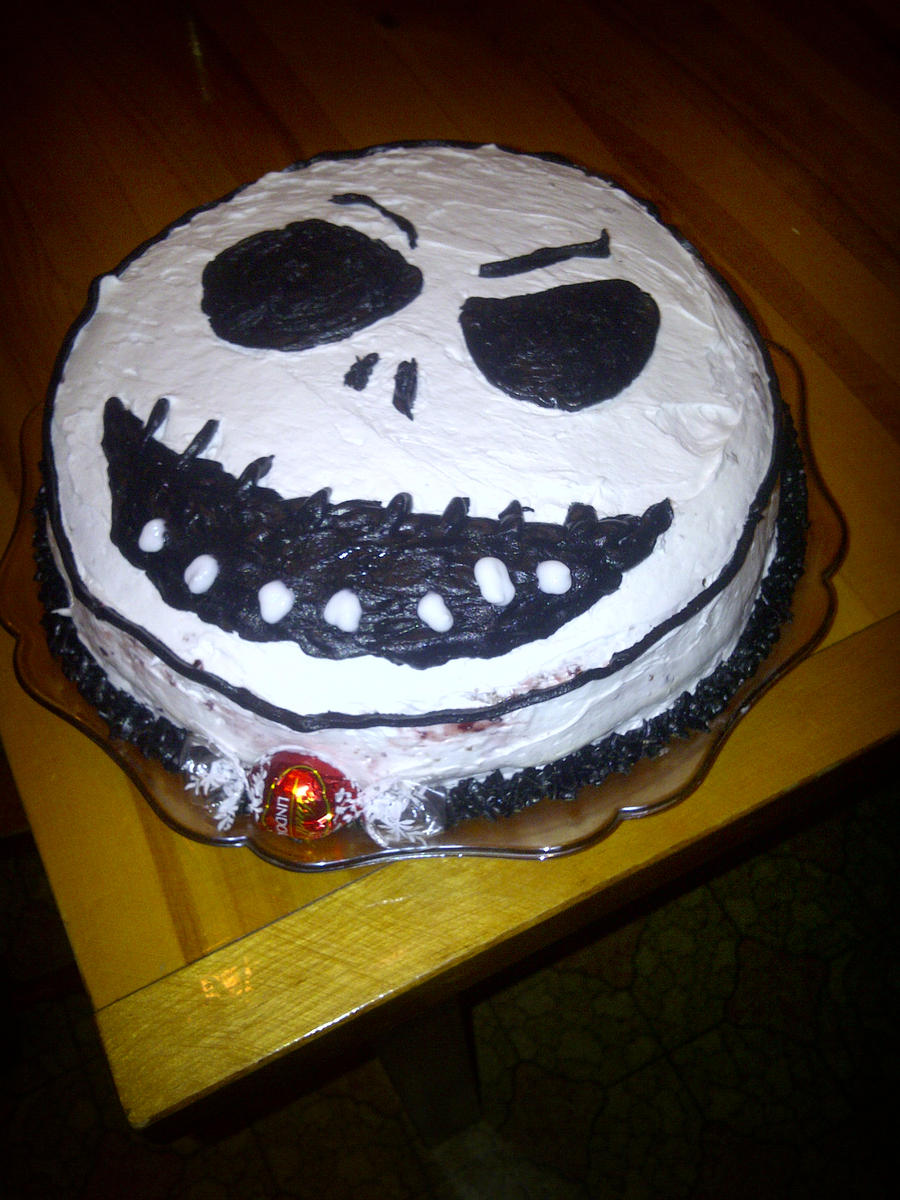 Jack Skellington Birthday Cake by Danou1 on DeviantArt