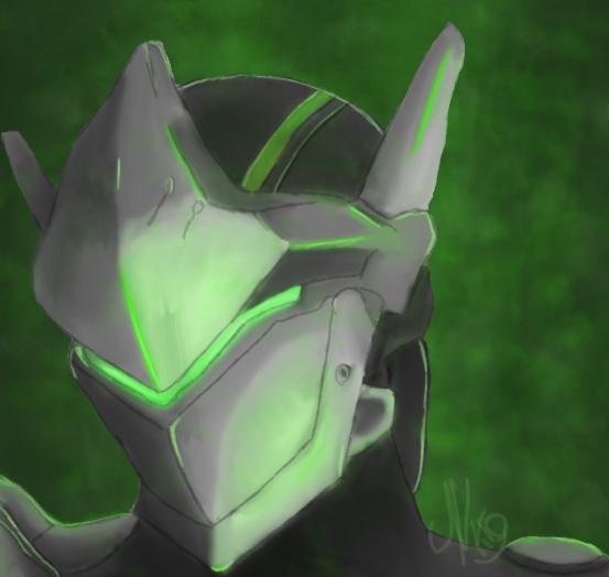 Genji (OW) by ThisIsNiko