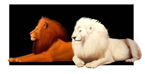 Jungle Kings - Simba and Kimba