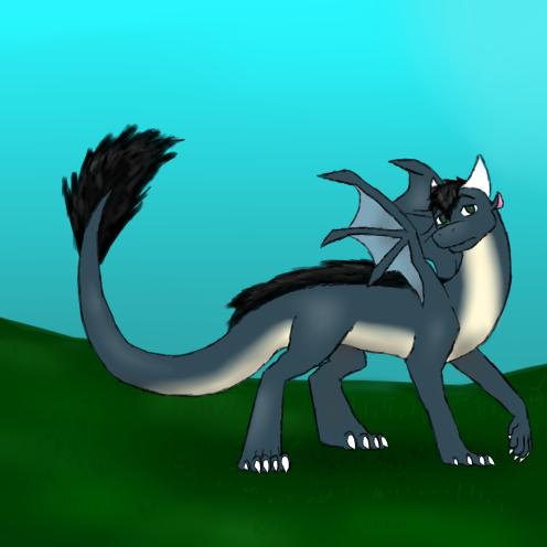 Bertolt Dragon Redesigned by pokephantom99