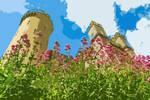Lovely Castle Painting Design