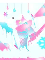 ice cream by SaKOoU