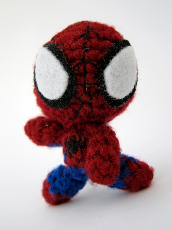 Amigurumi Spiderman Patron : spiderman amigurumi Amigurumis Pinterest
