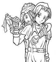 Link and Sheik by adenydd