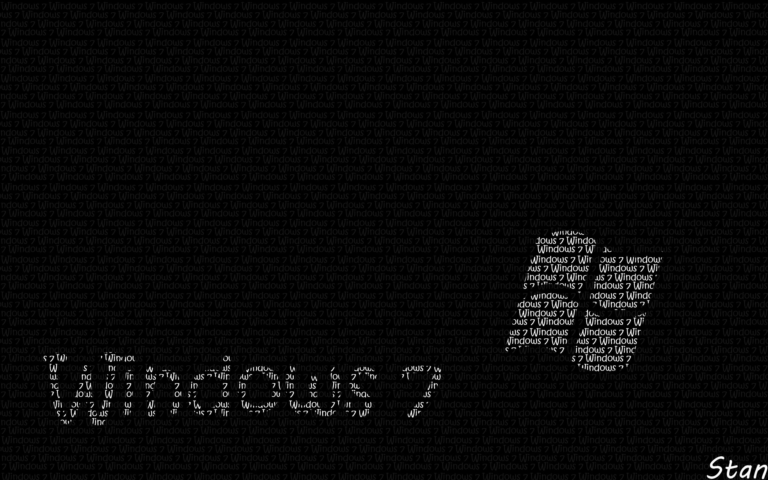 windows 7 black and white by mylifeasstan on deviantart
