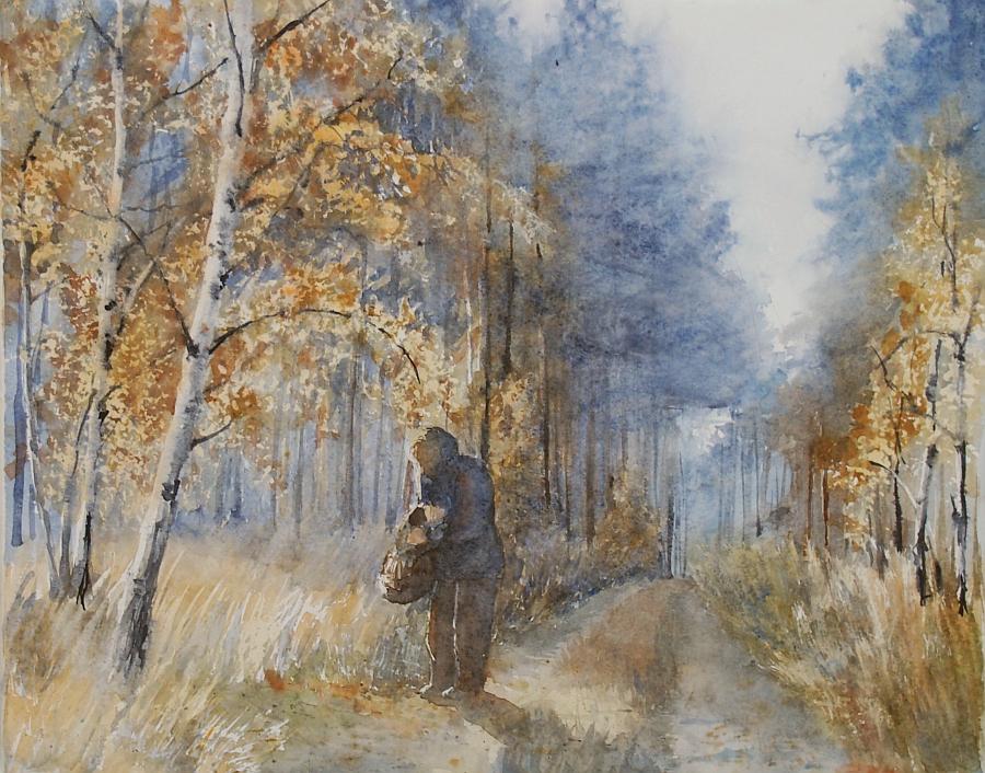 Sloneczny las Szafranka by modliszqa