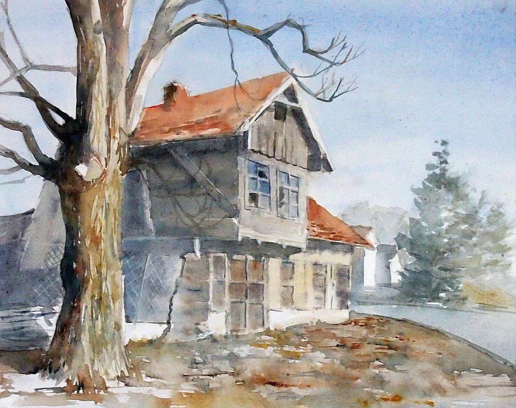 Stara chata by modliszqa
