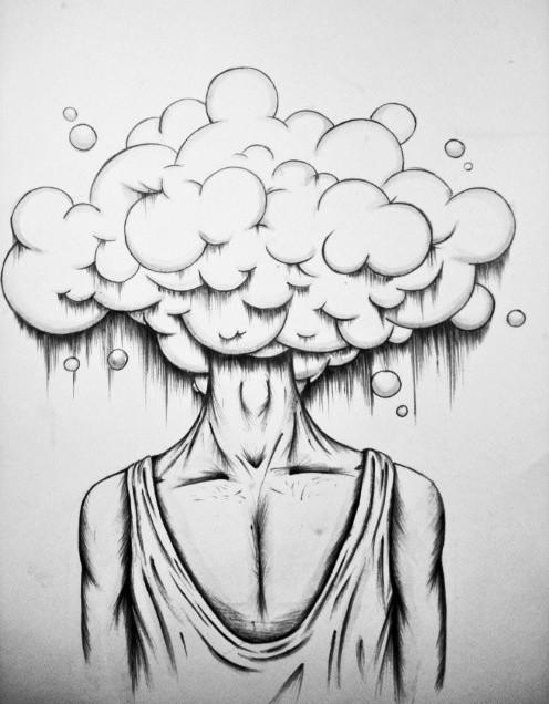 Cloud head by IbrahimCoban