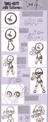 Chibi Tutorial: LineART by EmiMG