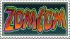 Zomcom Stamp by EmiMG