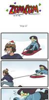 zomcom: sleigh me