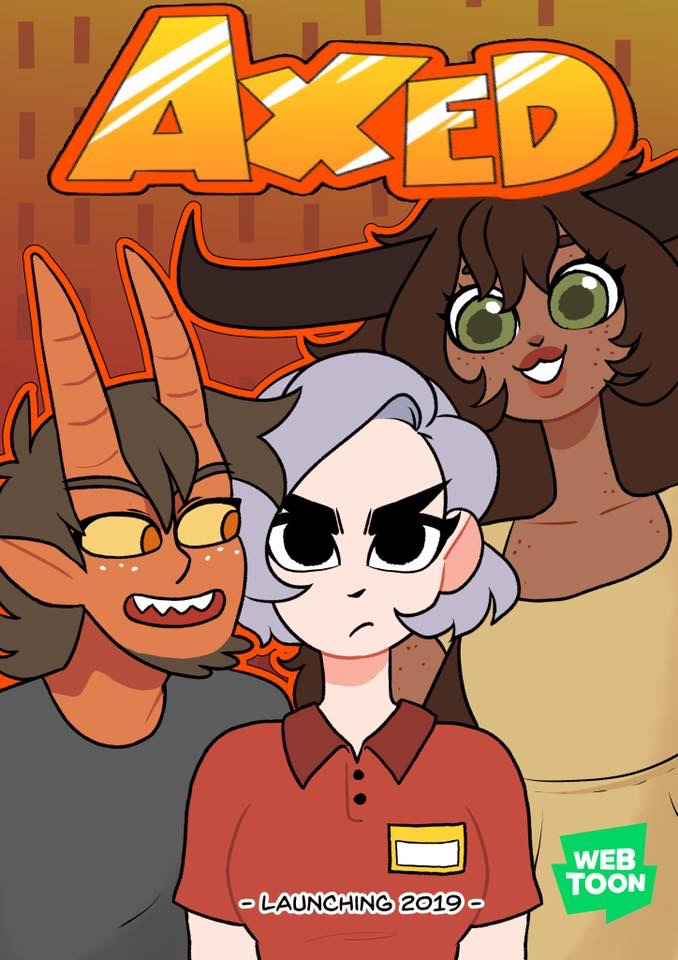 Axed: Official comic! by EmiMG