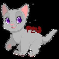 P2U Kitten base 100pts/1$ by FluffleBear