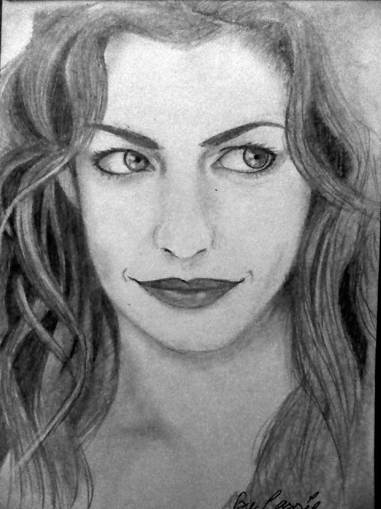 Anne Hathaway by CassieLojingau