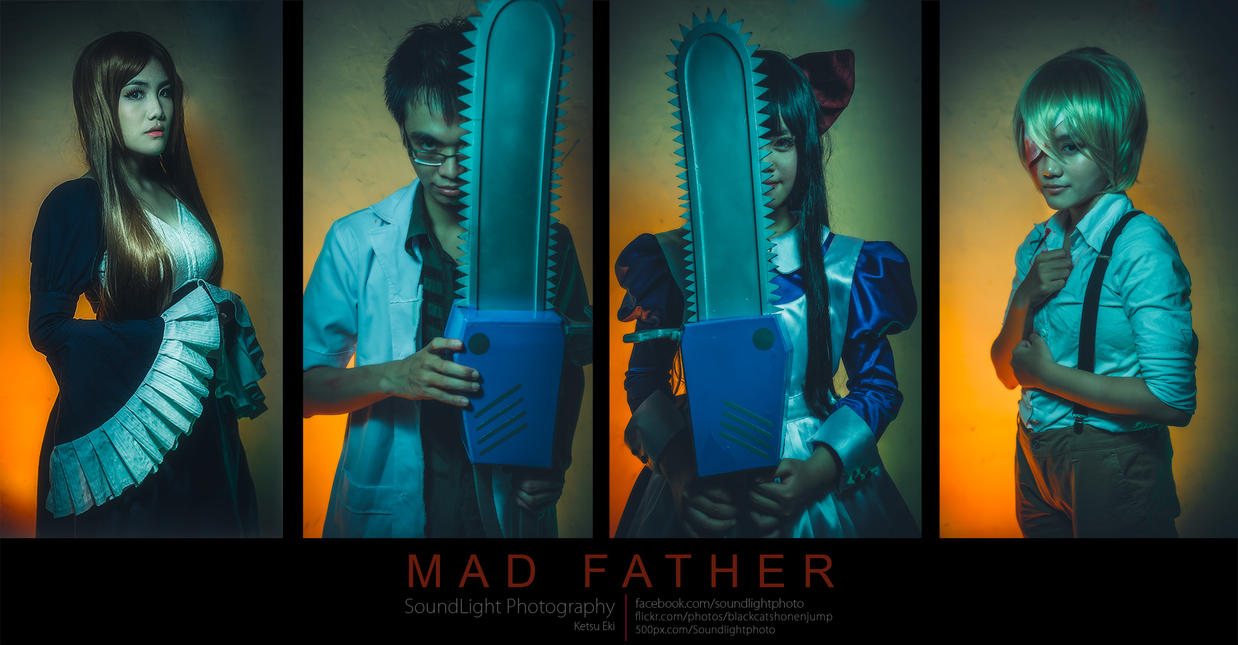 Mad father cosplay. by MurMoruno on DeviantArt