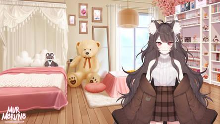 Cozy bedroom - PlushyFox