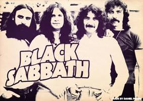 Band Poster: Black Sabbath by elcrazy