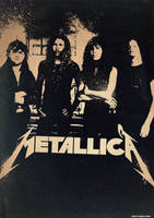 Band Poster: 90's Metallica by elcrazy